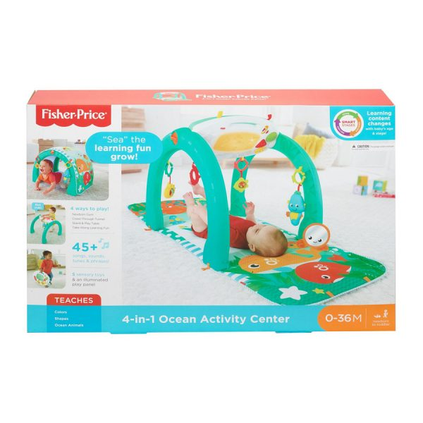 4-in-1 Ocean Activity Centre Fisher Price