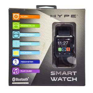 Bluetooth Smart Watch Black Hype