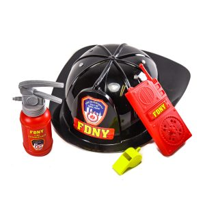 Fire Helmet with Accessories
