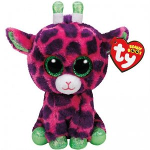 Ty Beanie Boo Med Gilbert the Pink Giraffe