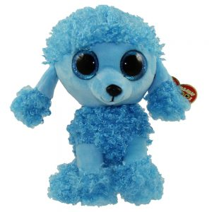 Ty Beanie Boo Med Mandy the Blue Poodle