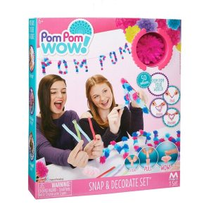Pom Pom Wow Snap n Decorate Set