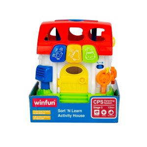 Soft n Learn Activity House