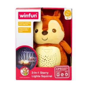 2in1 Starry Lights Squirrel