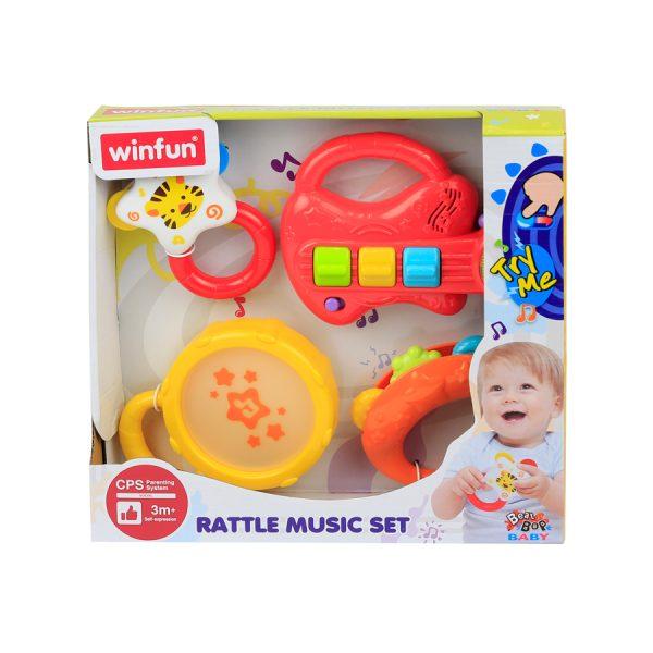 Rattle Music Set Guitar