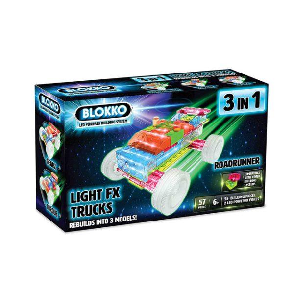 Blokko 3in1 Light Up Trucks