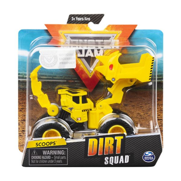 Monster Jam Dirt Squad Asst