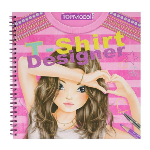 Tshirt Designer Sketch Book