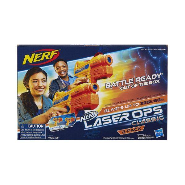 Nerf Laser Ops Classic Ion Blaster 2 Pak