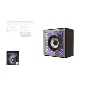 Infinite Bass BLUETOOTH LED Speaker