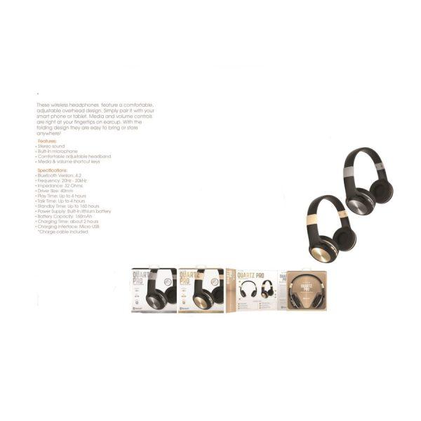 Quartz Pro BT Headphones