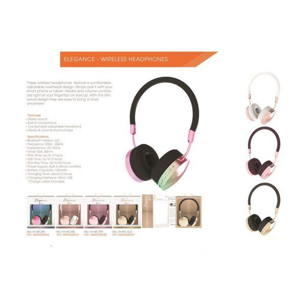 Elegant Slim BT Headphones IRD