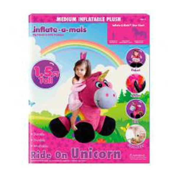 Inflatemals Ride On Unicorn