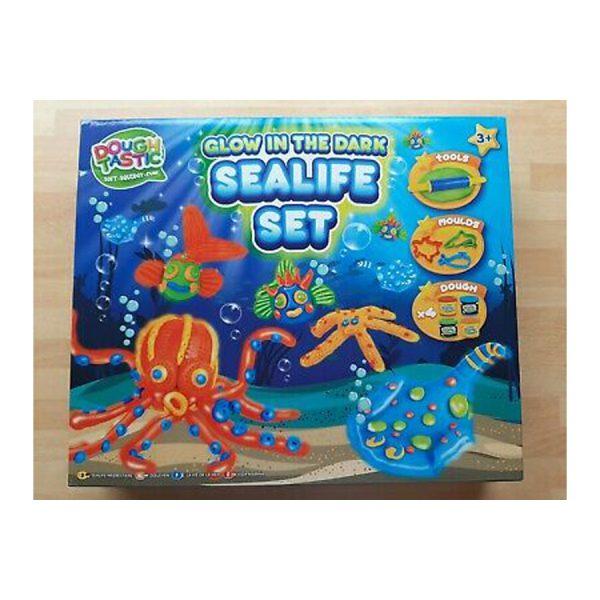Doh Glow Sealife Set