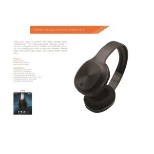 Dynamic BT Headphone w Media Keys