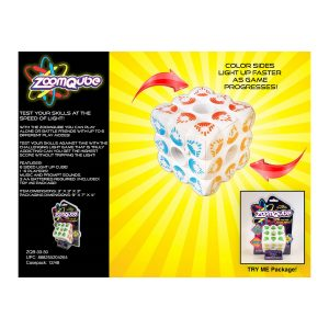 Zoom Cube Electronic Game